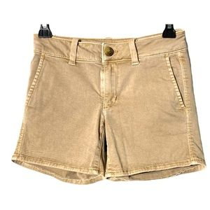 American Eagle Outfitters Shorts Faded Brown 00